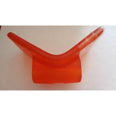 Orrtámasz V-alakú PU narancs