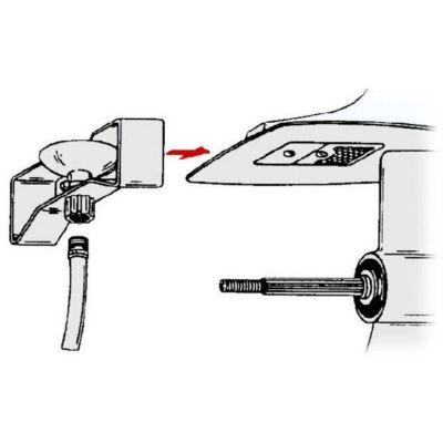 Motoröblítő alsó beszívóhoz