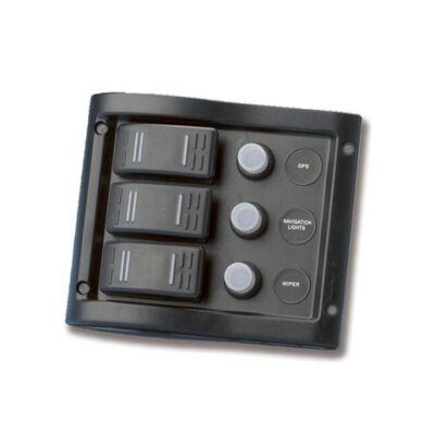 Kapcsolótábla 3k 130x110mm